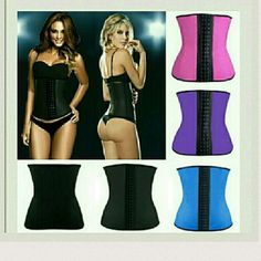 9 steel boning latex waist trainer TOP QUALITY... 9 STEEL BONING!! 3 Hooks. L?tex waist trainer corset 100% Rubber waist corset!!! PLEASE ALWAYS DOUBLE CHECK SIZE CHART BEFORE BUYING..!! PLEASE ASK ME BEFORE BUYING! !!  COMES IN 4 COLORS  BLACK.  PINK.  PURPLE. BLUE  ALL COME IN XS SMALL. MEDIUM. LARGE . XL 2XL 3XL AND ONLY IN BLACK  4XL 5XL 6XL  ALL SIZES AND COLORS AVAILABLE. .  IF YOU WANT TO BUY THIS ?TEM JUST BUY THIS POST AND COMMENT THE SIZES AND COLOR YOU WANT.. SHIP SAME OR NEXT…