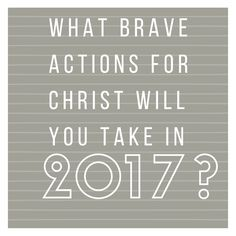 God is calling you! Will you answer and take the brave actions He needs you to do take in His name?