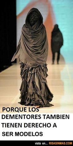 Los Dementores también pueden ser modelos.