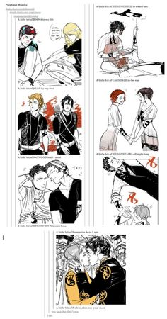 Parabatai Mambo :) *holds back tears at the perfectness of it ad the James and will part the heronstairs*