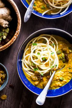 Coconut Curry with Almond Butter | Food Faith Fitness