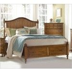 Broyhill - Hayden Place Oak Panel Bed with Storage - 4645  SPECIAL PRICE: $1,120.00
