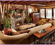 small cabin decorating ideas Archives