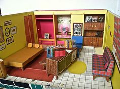 1962 Vintage Barbie Dream House With Furniture | EBay We Played With This  Until It Fell