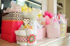 I Heart Pears: Owled Theme Baby Shower