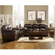 Ashley Furniture Living Room | ... Living Room Furniture Living Room Sets  Maguire Brown