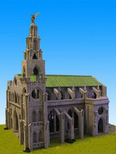 A Tale of Miniatures and Dice: La cattedrale - The cathedral