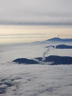 Fotografía de Laura Barboza. Volcanes Poás y Turrialba, Costa Rica.