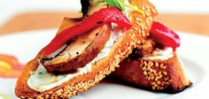 <p>Ingredients Makes:30 pieces 3 large portobello mushrooms ¾ cup + 2 tablespoons Bernstein's® light roasted-garlic balsamic dressing Olive oil cooking spray 1 loaf (12 ounces) baguette-style French