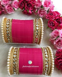 Silk Bangles, Bridal Bangles, Wedding Jewelry, Bridal Jewellery Inspiration, Bridal Chuda, Anklet Tattoos, Bridal Accessories, Jewelry Design, Makeup