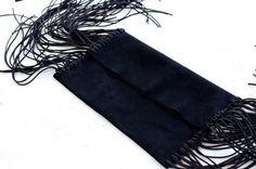 DIY: Bolso cuero con flecos