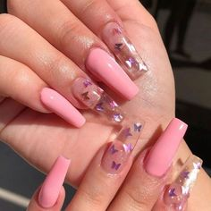 Nail Art Design 40 Stylish Fun Design - Inspired Beauty Nail Art Design 40 Stylish Fun Design - Inspired Beauty,make up n nails Nail Art Design - Inspired Beauty art designs ideas nail designs nails nails Aycrlic Nails, Swag Nails, Ongles Rose Pastel, Nagellack Design, Tapered Square Nails, Pink Acrylic Nails, Pastel Pink Nails, Colourful Nails, Acrylic Spring Nails