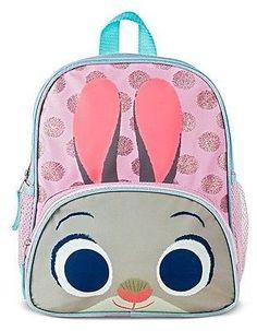 Glitter Horn Backpack Kids Size Hair Makeup Backpacks Kids