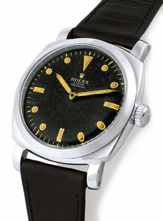 "Military Rolex ""Oyster Precision"", Ref 6154, case No. 997572. Made in 1954. supplied by Rolex to Panerai. Exceptionally rare"