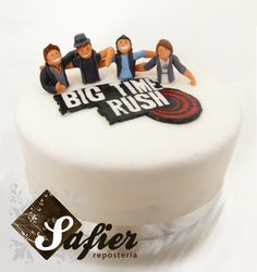 Big Time Rush By Safier Repostería  Claire's bday