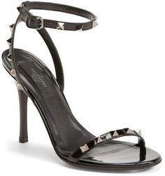 Valentino 'Noir Rockstud' Sandal (Women)
