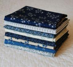 civil war fabric fat quarters | Civil War Blues Fat Quarter Bundle by NauvooQuiltCo on Etsy