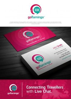 Great Logo and Business Card Design � 33 at Www.designcontest.com https://www.designcontest.com/logo-and-business-card-design/goflamingo