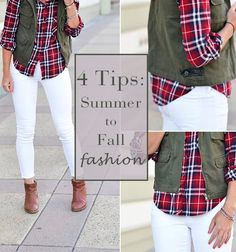Transform your wardrobe from summer to fall