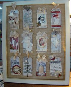 Christmas Sampler - Class at Remember This Remember That