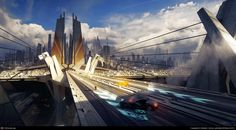Alone on the Road by Bastien Grivet | 3D | CGSociety