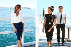 Evening formal and servicewear for superyacht crew | ©Anchors & Dove