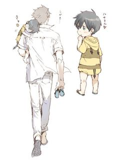(9) Twitter Anime Bebe, Anime W, Otaku Anime, Character Art, Character Design, Anime Family, Psycho Pass, Anime Child, Kid Poses