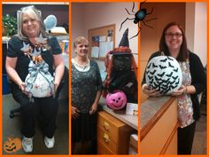 #Halloween fun at Central Maine Orthopaedics.   Our top 3 winners from our #pumpkin contest.