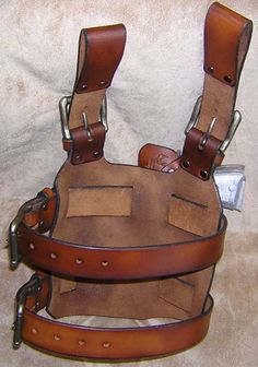 Custom Leather Holster Rigs Hand Crafted By Lever