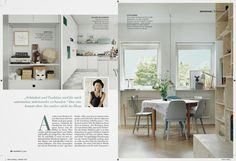 emma persson lagerberg - Petra's home in German magazine Wohnide. Styling by me, photography by Petra Bindel.
