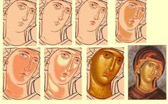 Visit the post for more. Religious Icons, Religious Images, Religious Art, Byzantine Icons, Byzantine Art, Writing Icon, Paint Icon, Religious Paintings, Face Icon