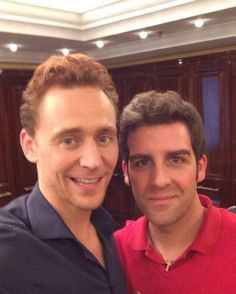 Tom and fan