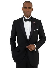 BROOKS BROTHERS1818 One-Button Fitzgerald Tuxedo. Love this!