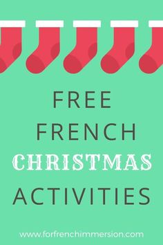 Tons of FREE French Christmas resources for your second-language classroom. The holidays is such a busy time for teachers. Give yourself a break by downloading these freebies for French Immersion and Core French classrooms. Save yourself time and energy: links to  15 French freebies for Noël!