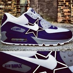 Dallas Cowboys custom Nike Air Max Dallas Cowboys Women 5fe3a9fc8