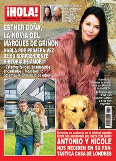 En ¡HOLA!: Esther Doña, novia del Marqués de Griñón, habla por primera vez de su sorprendente historia de amor