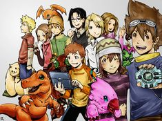 Digimon by ~taintedfeather on deviantART