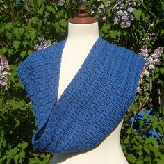 Huguette foulard,  patron de crochet disponible en français!