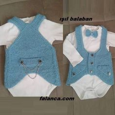 Season ' s trendiest Baby Cardigan Vest tricô modelos Baby Boy Outfits, Kids Outfits, Pullover Outfit, Knit Vest Pattern, Crochet For Boys, Baby Cardigan, Baby Sweaters, Little Girl Dresses, Baby Knitting