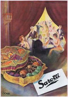 Sarotti Vintage Ads Food, Vintage Advertisements, Fine Art Prints, Framed Prints, Canvas Prints, Art Deco Pictures, Night Gallery, Large Picture Frames, Kakao