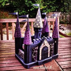 """The Castle from """"Bedtime Stories"""" by SVGCuts. My Halloween version."""