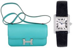 Hermes + Cartier. Perfection.