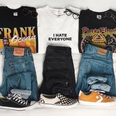 Grunge Look Book ( Grunge Outfits, Edgy Outfits, Retro Outfits, Vintage Outfits, Fashion Outfits, Ootd Fashion, Aesthetic Grunge Outfit, Aesthetic Fashion, Aesthetic Clothes
