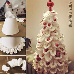 Clay Christmas Decorations, Holiday Ornaments, Christmas Crafts, Holiday Decor, Christmas Holidays, Xmas, Christmas Tree, Holiday World, Crafts For Kids