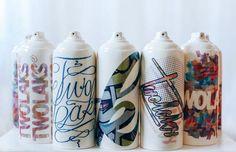 Kontraband X Dan Elborne, Twolaks Spray Can Art, Spray Paint Cans, Graffiti Lettering, Graffiti Art, Graffiti Spray Can, Graffiti Flowers, Wildstyle, Cool Art Projects, City Art