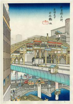 日本橋 改 [Nihonbashi Aratame] - 山口晃 [Akira Yamaguchi] (2012)