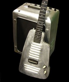 Aluminum-aluminium and steel guitars by longfellowguitars, London - gtrs