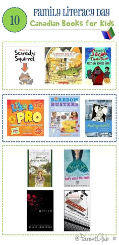 Canadian Books For Kids