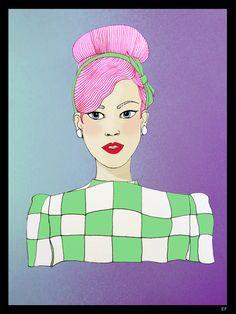 OC girl 2