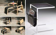 Resultado de imagen para mobiliario multifuncional para espacios pequeños